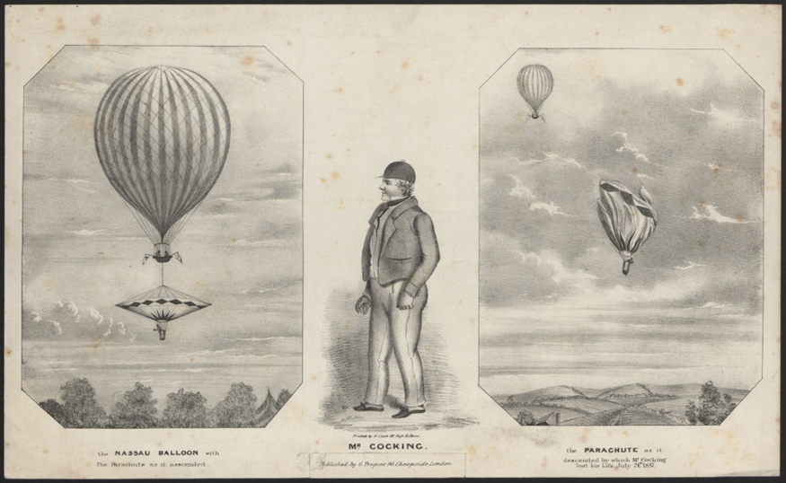 Did you know the first parachute death happened in SE London?