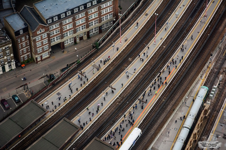5 secrets of london bridge station londonist for Design agency london bridge