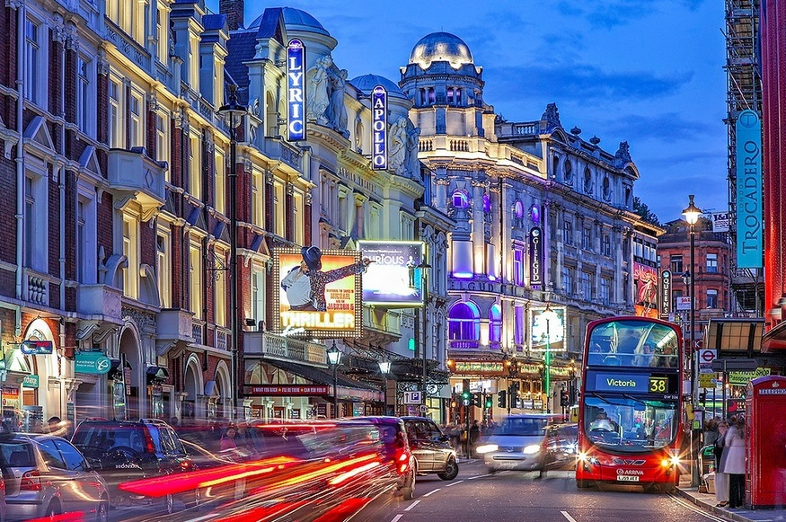 7 Things You Probably Didn't Know About Shaftesbury Avenue.