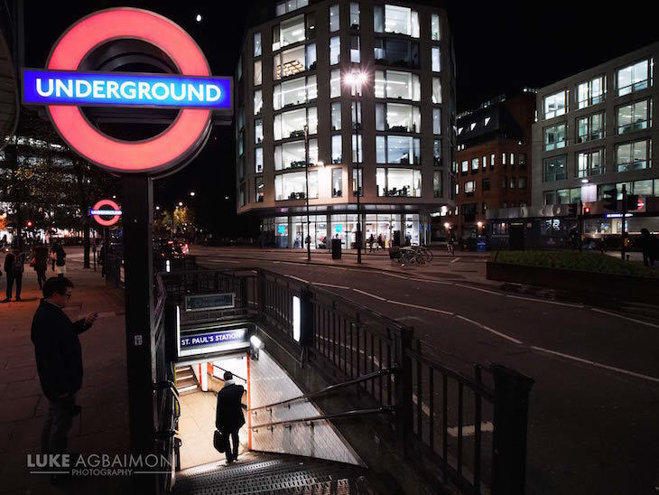 Photographer Captures London Tube Stations Beautifully
