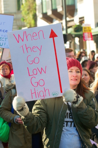 A March For Women's Rights