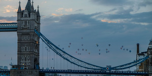 Timelapse Video: London Balloon Regatta