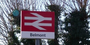Video: Belmont - One Of London's Least Used Train Stations