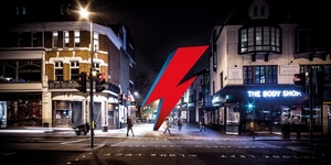 Brixton's Getting A Huge Lightning Bolt Bowie Memorial