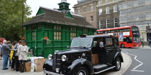 An Obsession With The Green Cabbies' Shelters