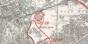 A Luftwaffe Map Of London