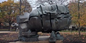 Where To Find Eduardo Paolozzi's Sculptures In London
