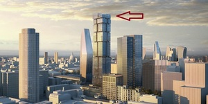 Huge New 'Jenga Tower' For Blackfriars Bridge Area