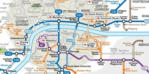 A Tube Map For Cyclists