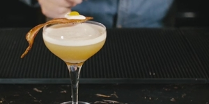 How To Make A Bacon And Egg Martini