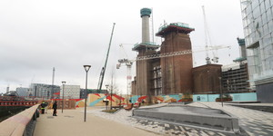 Battersea Power Station Promenade Open For The First Time Since The 1930s