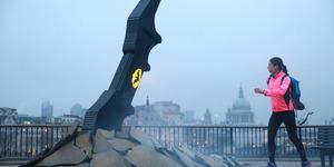 The Caped Crusader's Batarang Lands In London