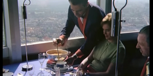 What Was It Like, Dining In The Post Office Tower?