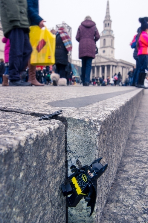 When Lego Batman Came To London