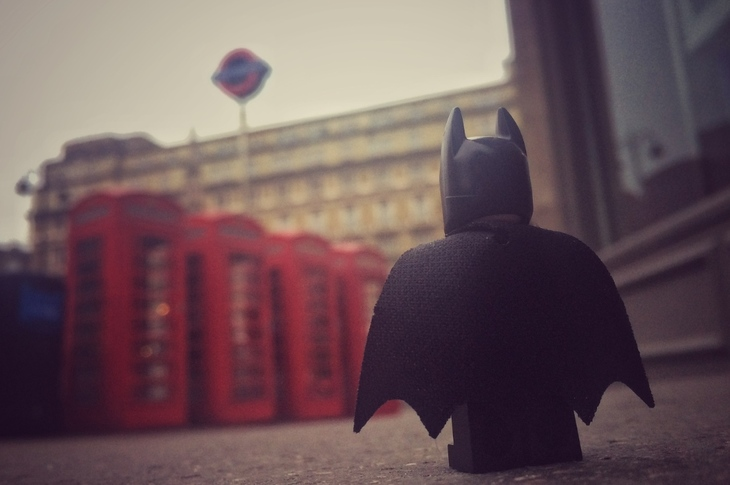 Batman And Robin's London Holiday Snaps