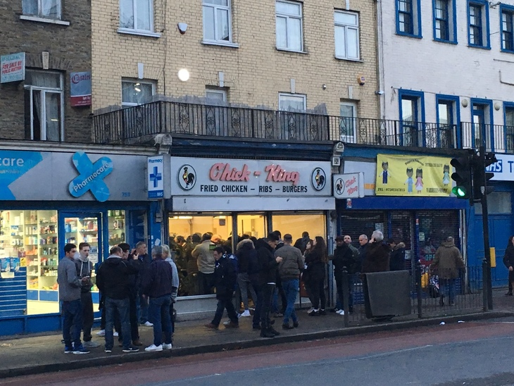 People Flocking To Pengest Munch Reviewed Chicken Shops