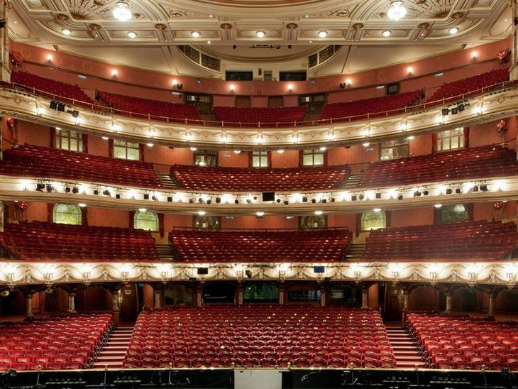 Which is london 39 s largest theatre londonist for Balcony meaning in english