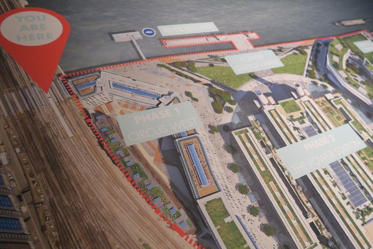 Battersea Power Station Redevelopment Beginning To Open