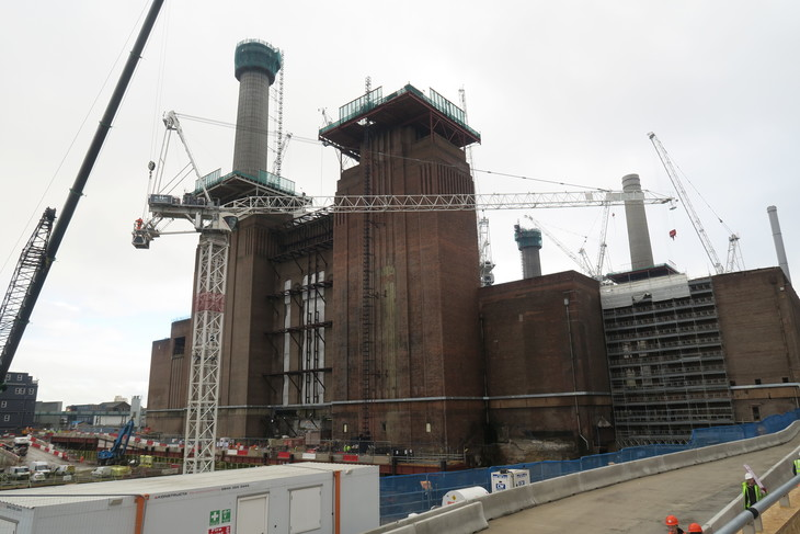 Battersea Power Station promenade open for the first time since 1930s