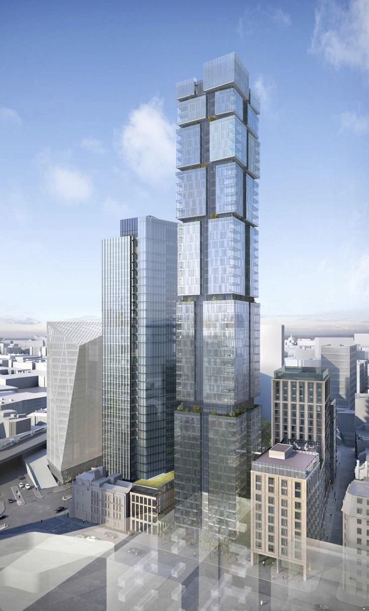 Huge New 'Jenga Tower' For Blackfriars Bridge Area