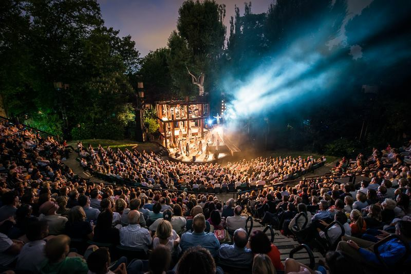 Most romantic London days out and date ideas: Regent's Park Open Air Theatre