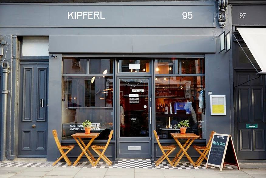 London's most romantic cafes and coffee shops: Kipferl
