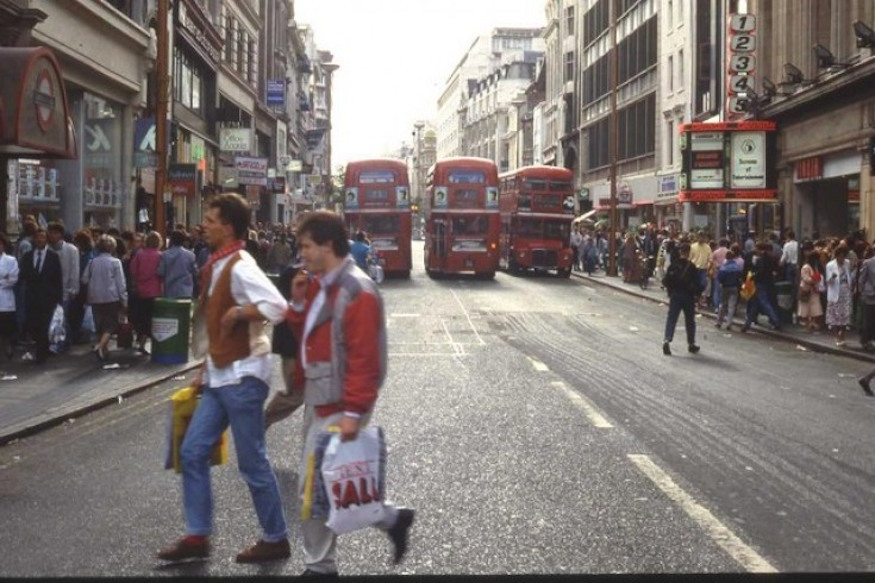 This Is What London Looked Like In 1991