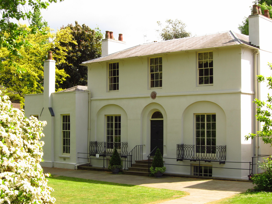 Most romantic London days out and date ideas: Keats House in Hampstead