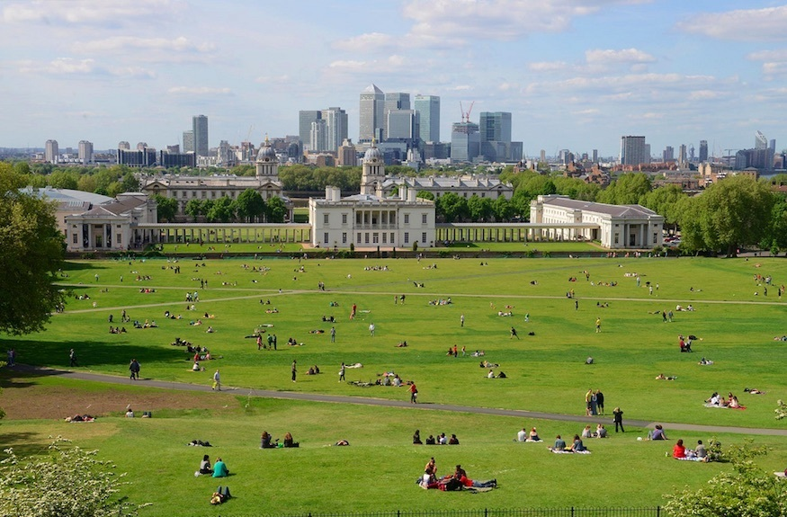 Most romantic London days out and dates ideas: gorgeous Greenwich