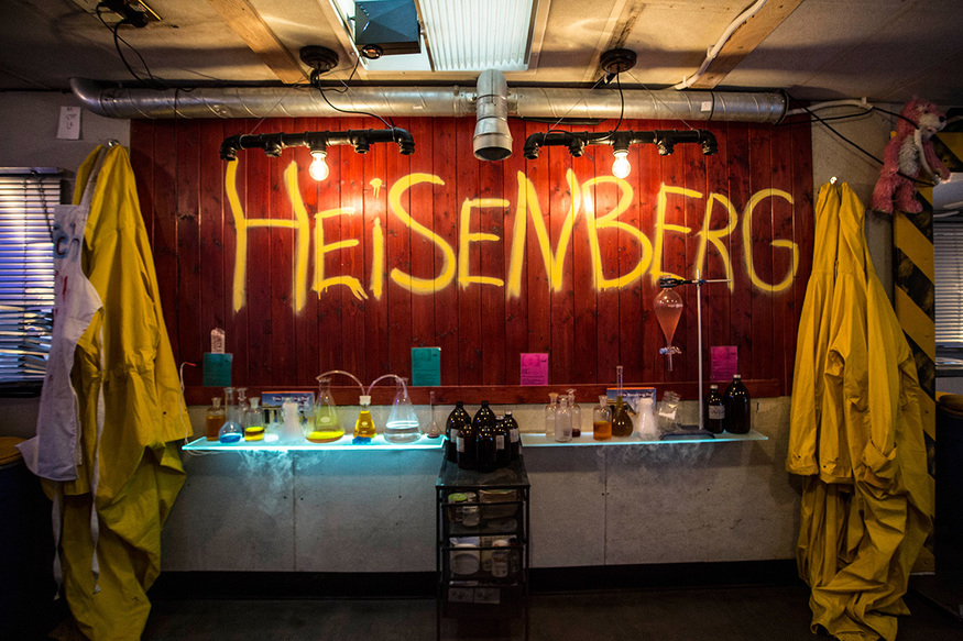 The Breaking Bad-inspired bar where you cook your own cocktails