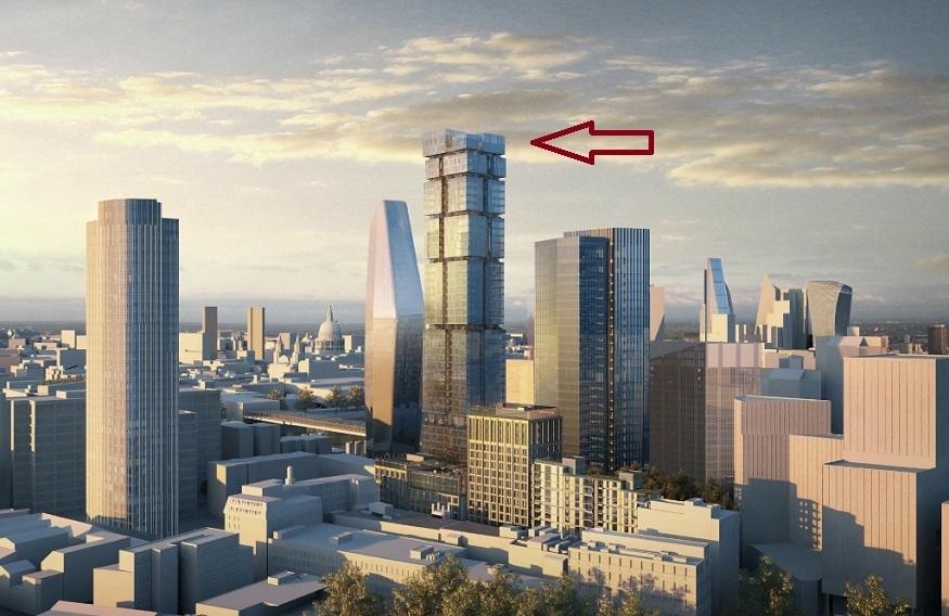 New Skyscraper For Blackfriars Bridge