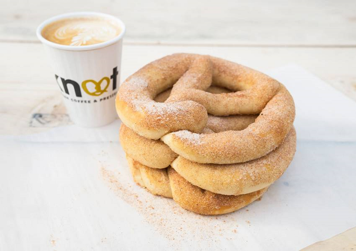 Free Cinnamon Pretzels At Boxpark This Valentine's Day