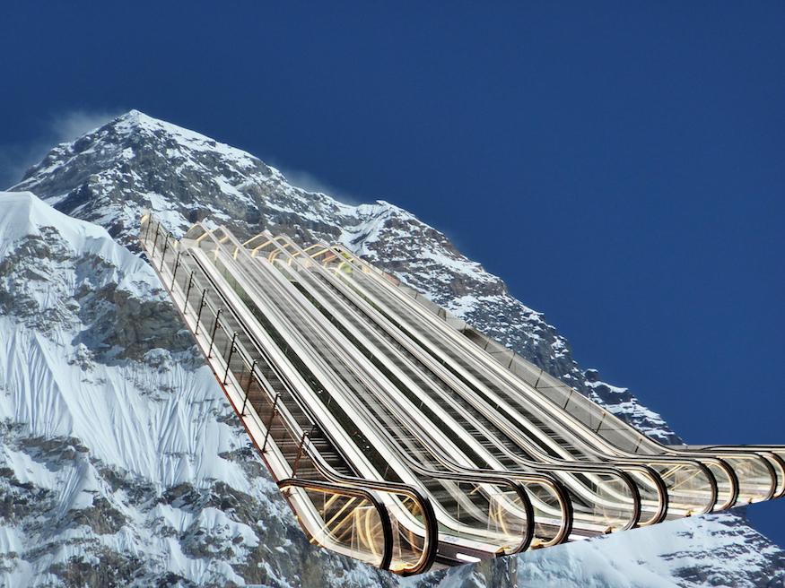 How Many Tube Escalator Steps Make A Mountain? | Londonist