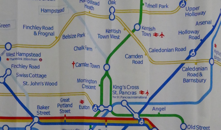 London Blunderground: A Really Bad Tube Map