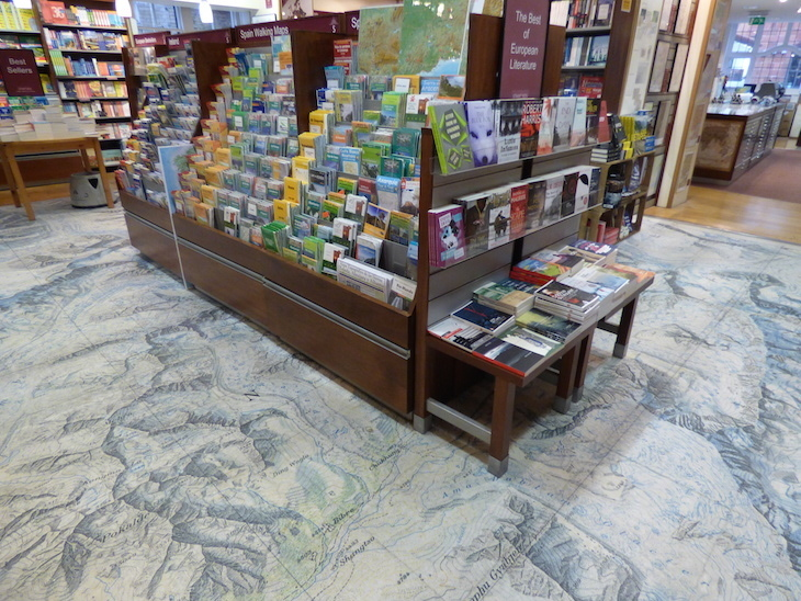 Getting Lost Inside The World's Largest Map Shop