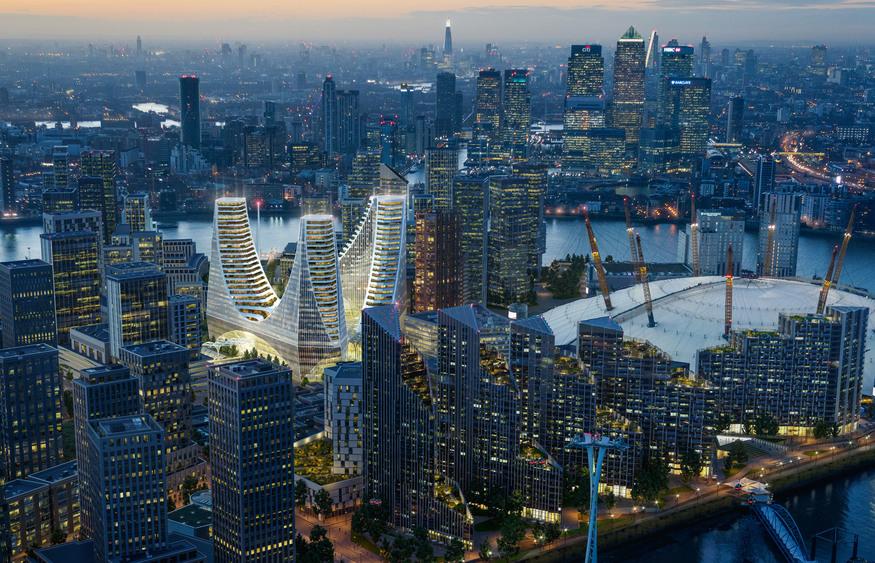 Plans for £1bn Greenwich Peninsula development