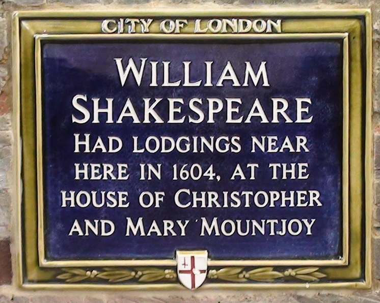 Did Shakespeare live on the site of the Cheesegrater?