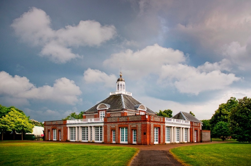 Most romantic London days out and date ideas: Serpentine Gallery in Hyde Park