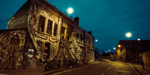 Eerie Photos Of East London At Dawn