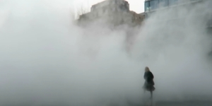 Video: A Creepy Fog Descends On The South Bank