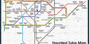 The Haunted Tube Map