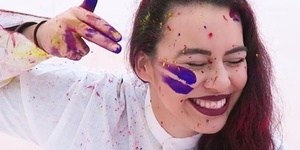 Video: Celebrate Spring By Chucking Coloured Powder At Your Mates