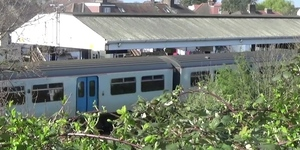 Video: London's Eighth Least-Used Station: South Merton