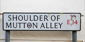 In Pictures: London's Oddest Street Names