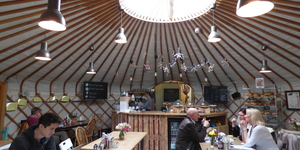 Ever Been To London's Yurt Café?