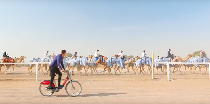 Watch This Man Cycle His Boris Bike Around The World