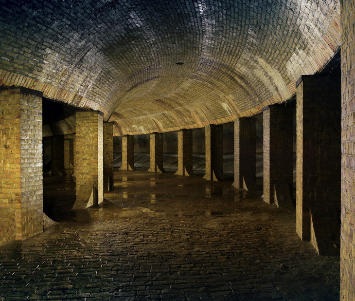 Stunning pictures of abandoned London buildings - including sewage works