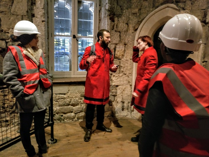 We Went To Bring Down The Crown At The Tower Of London