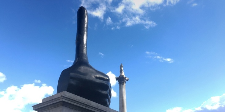 What The Fourth Plinth Art Says About London