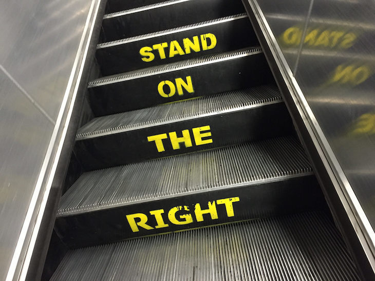 Is It Really Quicker To Stand On The Tube Escalators?